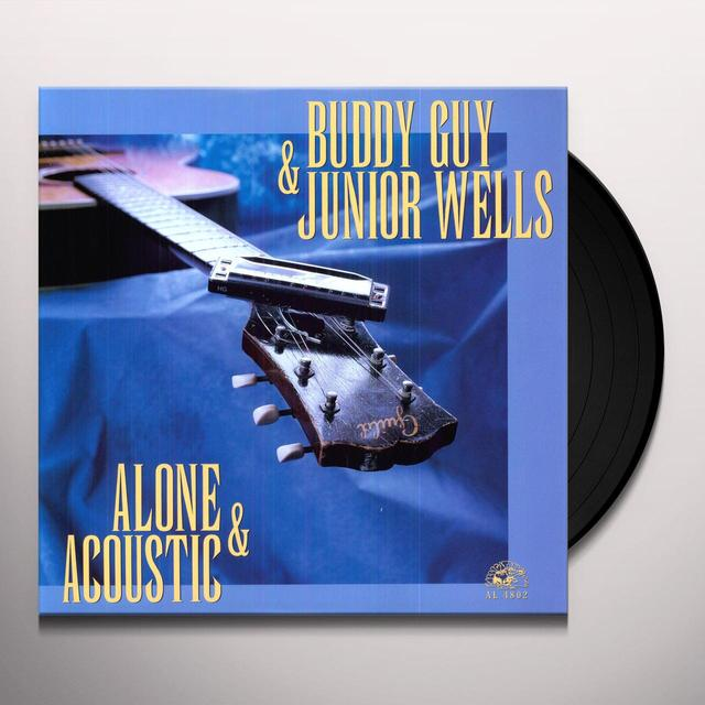 Buddy Guy & Junior Wells ALONE & ACOUSTIC Vinyl Record