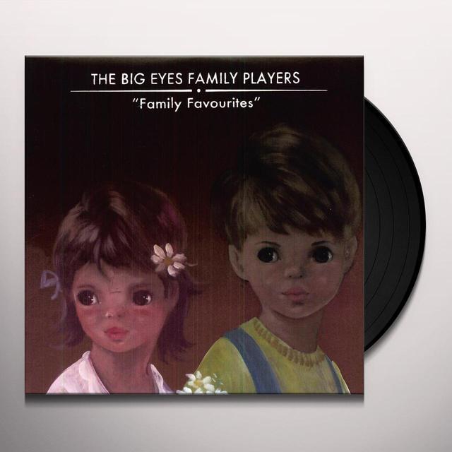 Big Eyes Family Players FAMILY FAVOURITES Vinyl Record