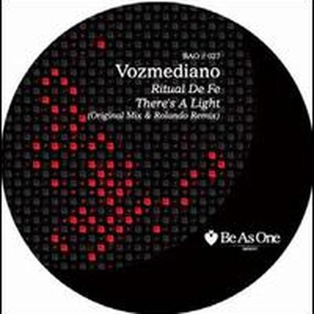 Vozmediano THERES A LIGHT Vinyl Record
