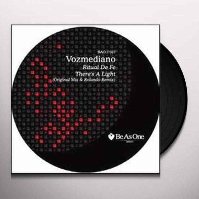 Vozmediano THERES A LIGHT (EP) Vinyl Record