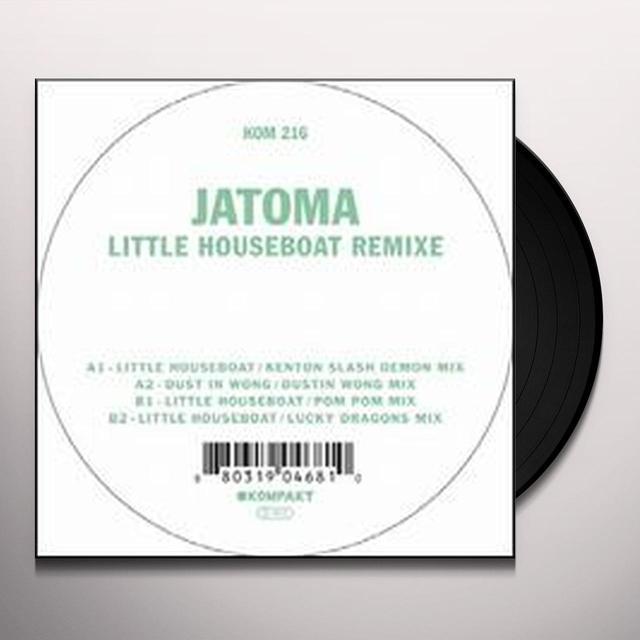 Jatoma LITTLE HOUSEBOAT REMIXE (EP) Vinyl Record