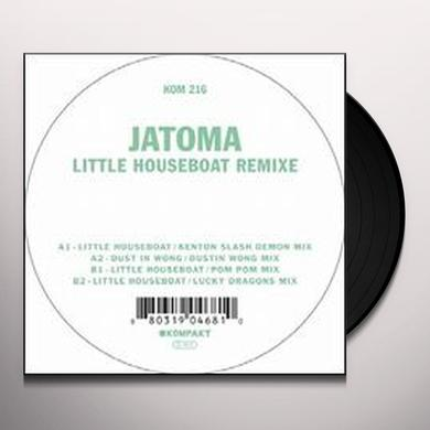 Jatoma LITTLE HOUSEBOAT REMIXE Vinyl Record