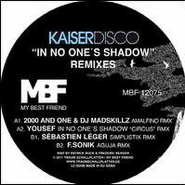Kaiserdisco IN NO ONES SHADOW REMIXES Vinyl Record