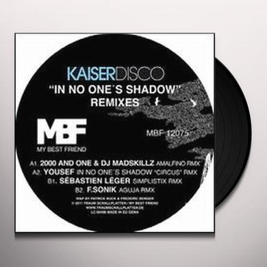 Kaiserdisco IN NO ONES SHADOW REMIXES (EP) Vinyl Record