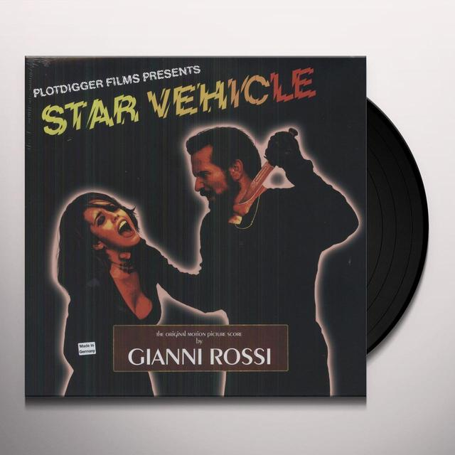 Gianni Rossi STAR VEHICLE: THE ORIGINAL MOTION PICTURE SCORE Vinyl Record