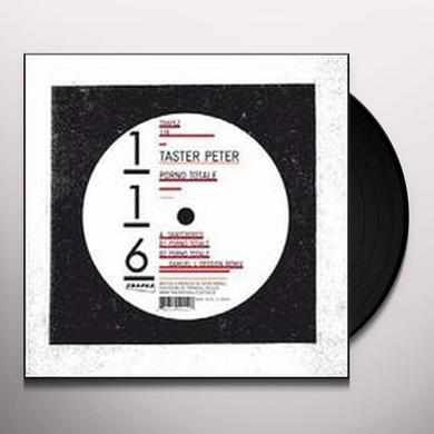 Taster Peter PORNO TOTALE (EP) Vinyl Record