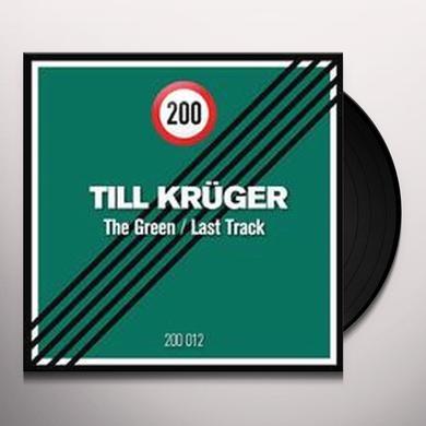 Till Kruger GREEN / LAST TRACK (EP) Vinyl Record
