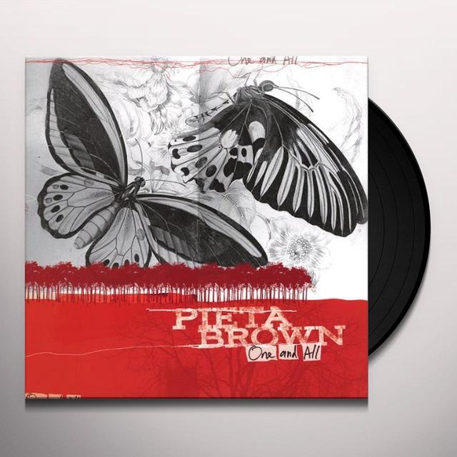 Pieta Brown ONE & ALL Vinyl Record