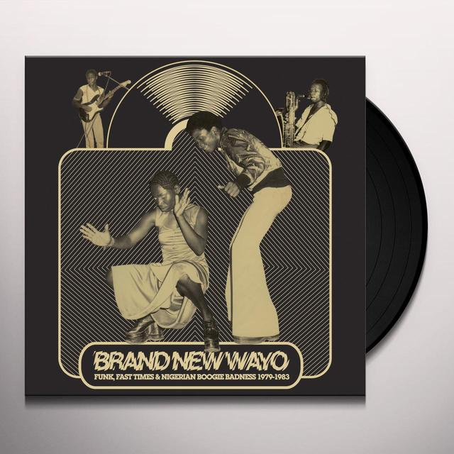 BRAND NEW WAYO: FUNK FAST TIMES & / VARIOUS Vinyl Record