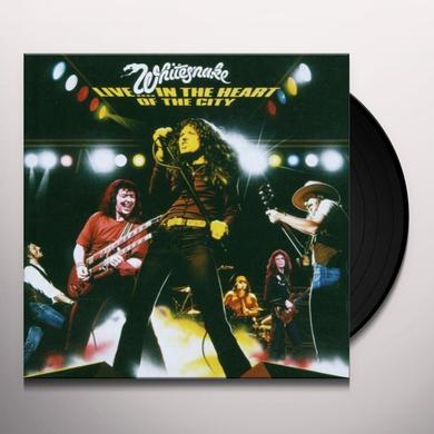 Whitesnake LIVE IN THE HEART OF THE CITY Vinyl Record - Limited Edition, 180 Gram Pressing