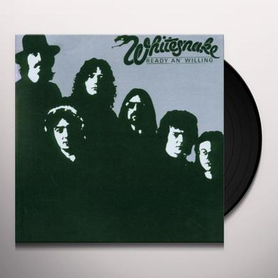 Whitesnake READY & WILLING Vinyl Record - Limited Edition, 180 Gram Pressing
