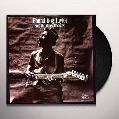 Hound Dog Taylor HOUND DOG & HOUSEROCKERS (BONUS TRACK) Vinyl Record - 180 Gram Pressing