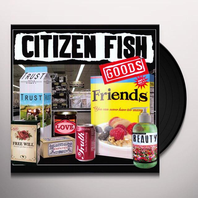 Citizen Fish GOODS Vinyl Record - Digital Download Included