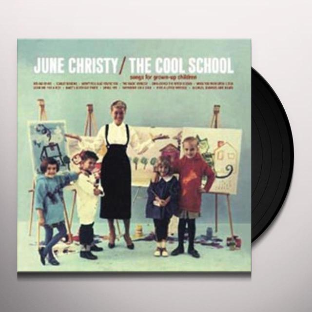 June Christy COOL SCHOOL Vinyl Record - 180 Gram Pressing