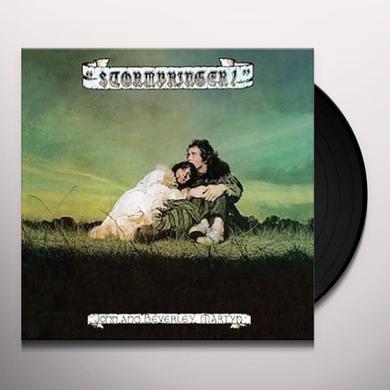 John Martyn & Beverley STORMBRINGER Vinyl Record - 180 Gram Pressing