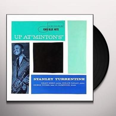 Stanley Turrentine UP AT MINTON'S Vinyl Record - 180 Gram Pressing
