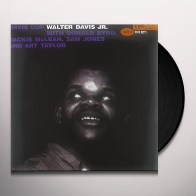 Walter Davis Jr DAVIS CUP Vinyl Record - 180 Gram Pressing