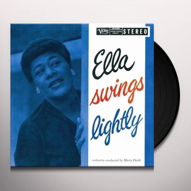 Ella Fitzgerald ELLA SWINGS LIGHTLY (OGV) (Vinyl)