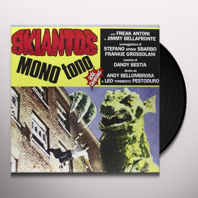 Skiantos MONO TONO (Vinyl)