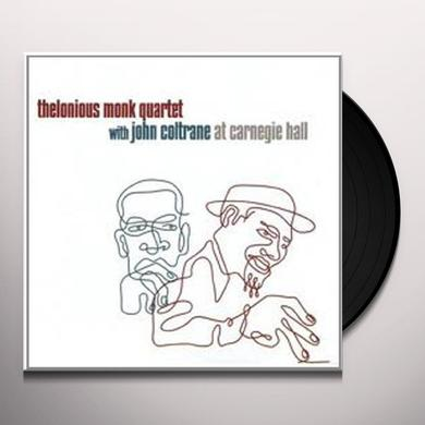 Thelonious Monk & John Coltrane AT CARNEGIE HALL Vinyl Record - 180 Gram Pressing