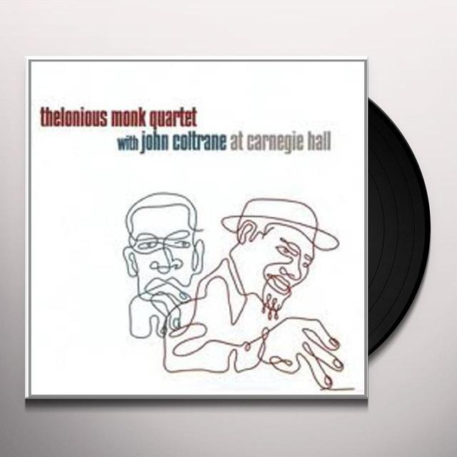 Thelonious Monk & John Coltrane AT CARNEGIE HALL Vinyl Record - 180 Gram Pressing