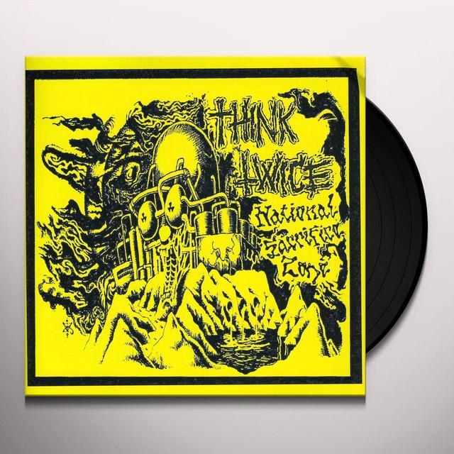 Think Twice NATIONAL SACRIFICE ZONE Vinyl Record