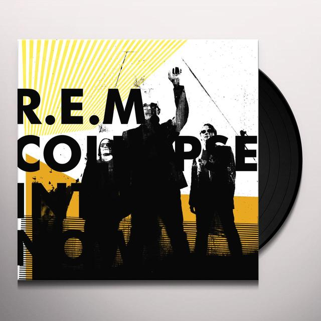 R.E.M. COLLAPSE INTO NOW Vinyl Record