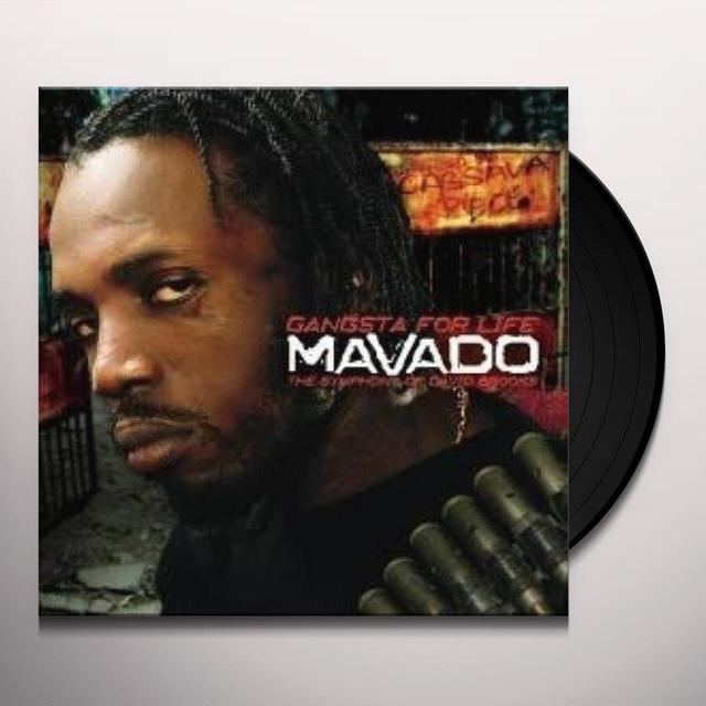 Mavado GANGSTA FOR LIFE Vinyl Record