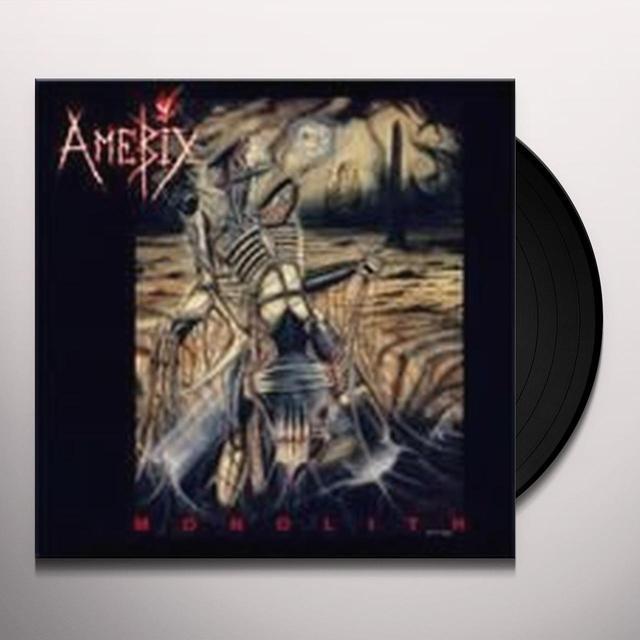 Amebix MONOLITH Vinyl Record - Limited Edition, 180 Gram Pressing