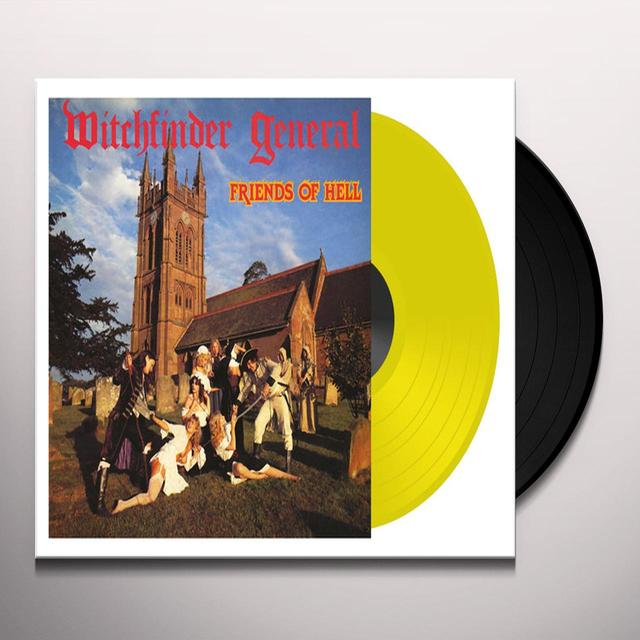Witchfinder General FRIENDS OF HELL Vinyl Record - Limited Edition, 180 Gram Pressing
