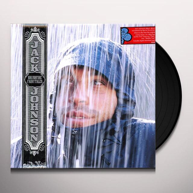 Jack Johnson BRUSHFIRE FAIRYTALES Vinyl Record - 180 Gram Pressing