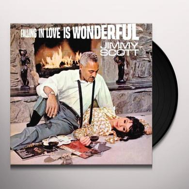 Jimmy Scott FALLING IN LOVE IS WONDERFUL Vinyl Record - 180 Gram Pressing