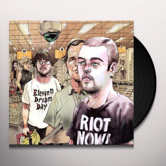 Eleventh Dream Day RIOT NOW Vinyl Record