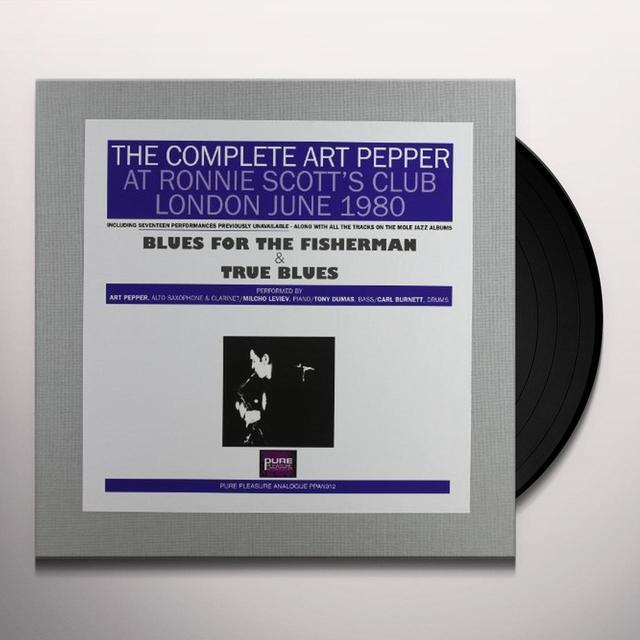 COMPLETE ART PEPPER AT RONNIE SCOTT'S 1980 Vinyl Record - 180 Gram Pressing