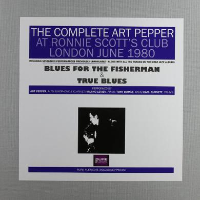 COMPLETE ART PEPPER AT RONNIE SCOTT'S 1980 Vinyl Record