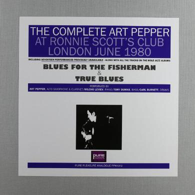 COMPLETE ART PEPPER AT RONNIE SCOTT'S 1980 Vinyl Record