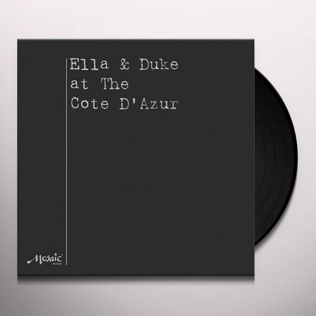 Ella Fitzgerald ELLA & DUKE AT THE COTE D AZUR Vinyl Record - Limited Edition, 180 Gram Pressing