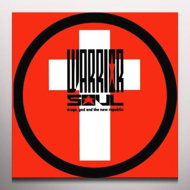 Warrior Soul DRUGS GOD & THE NEW REPUBLIC Vinyl Record - Colored Vinyl, Limited Edition