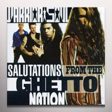 Warrior Soul SALUTATIONS FROM THE GHETTO NATION Vinyl Record - Colored Vinyl, Limited Edition