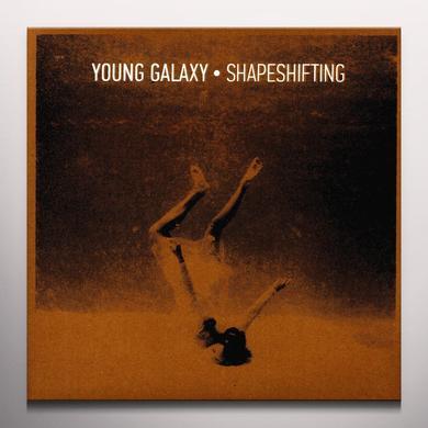 Young Galaxy SHAPESHIFTING Vinyl Record - Colored Vinyl, 180 Gram Pressing