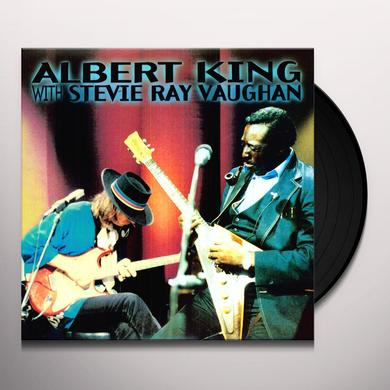 Albert King and Stevie Ray Vaughan IN SESSION Vinyl Record