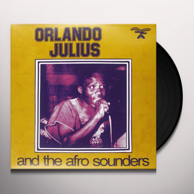 Orlando / Afro Sounders Julius AFRO SOUNDERS Vinyl Record