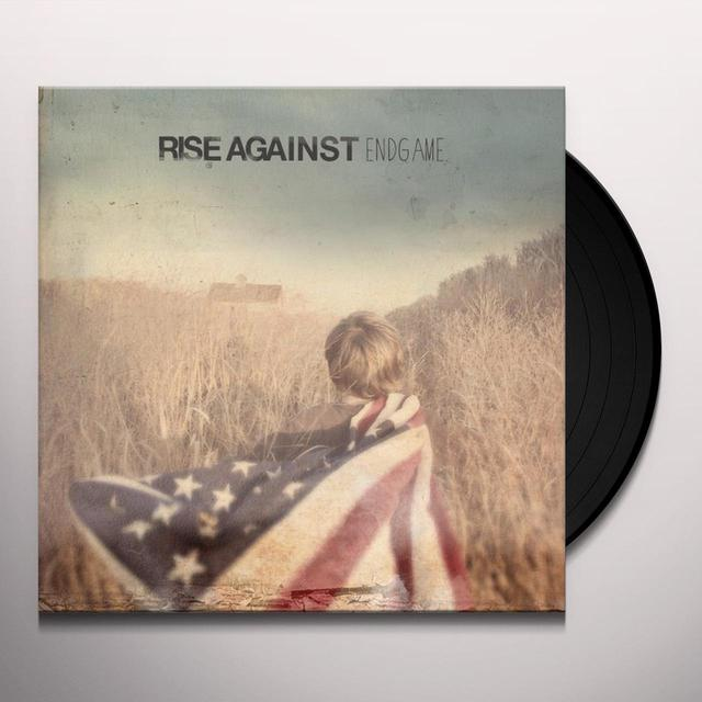 Rise Against ENDGAME Vinyl Record - MP3 Download Included