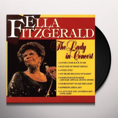 Ella Fitzgerald LADY IN CONCERT Vinyl Record