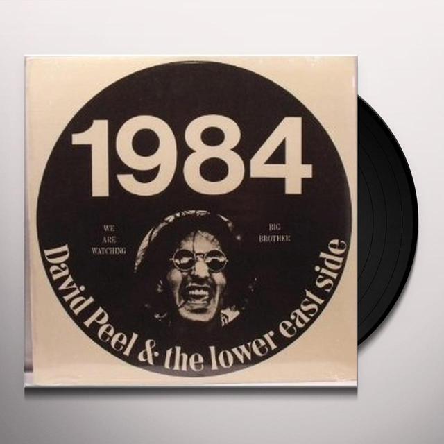 David Peel 1984 Vinyl Record