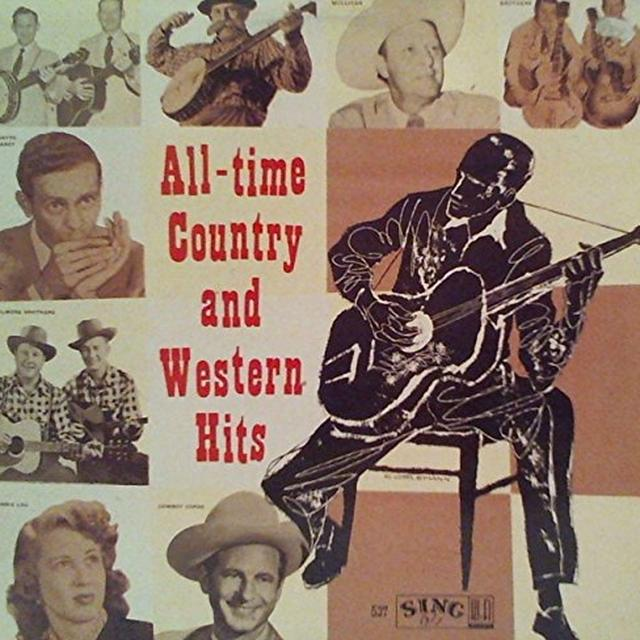 ALL TIME COUNTRY & WESTERN HITS / VARIOUS Vinyl Record