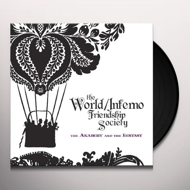 World / Inferno Friendship Society ANARCHY & THE ECSTASY Vinyl Record