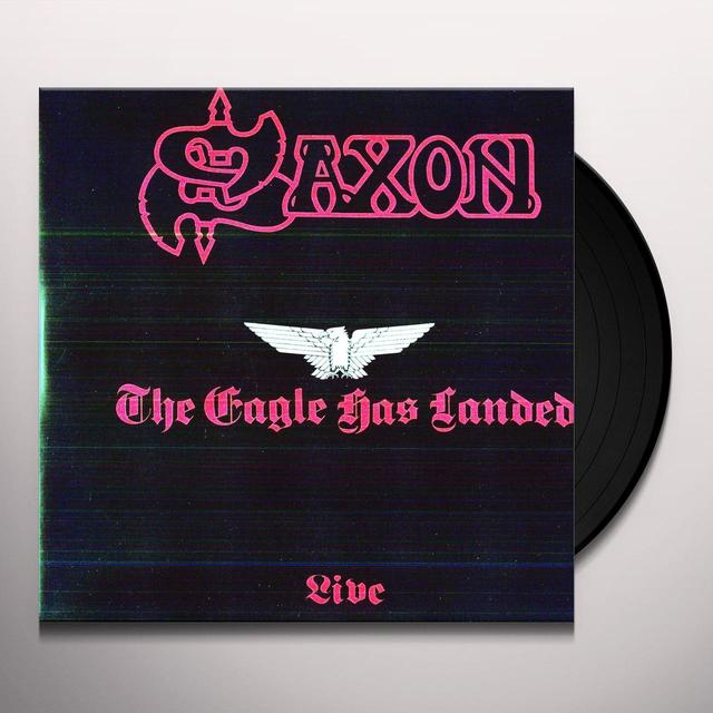 Saxon EAGLE HAS LANDED Vinyl Record - Limited Edition, 180 Gram Pressing