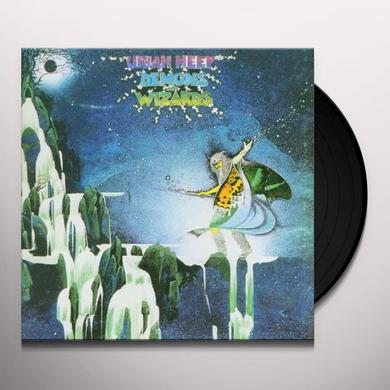 Uriah Heep DEMONS & WIZARDS Vinyl Record - Limited Edition, 180 Gram Pressing