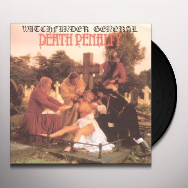 Witchfinder General DEATH PENALTY Vinyl Record